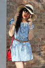 Asos-hat-periwinkle-kitty-print-random-dress-ruby-red-random-bag