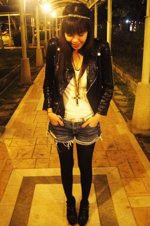 Zara jacket - Zara shoes - Forever 21 accessories