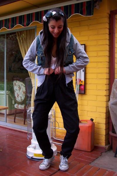 Opposite jacket - Zara jeans - Converse shoes - Patronato sweater - Zara shirt