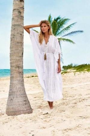 white Melissa Odabash dress