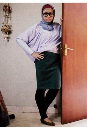 blouse - flats