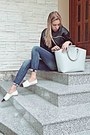 Beige-chanel-shoes-blue-dsquared2-jeans-black-pull-bear-sweater