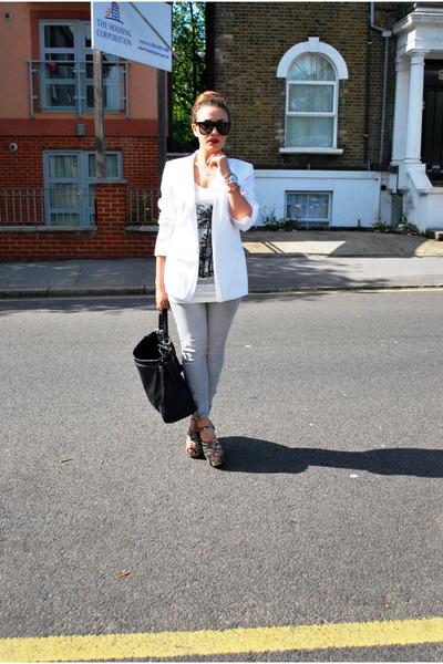 Zara jeans - Zara blazer