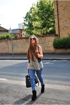 Zara jeans - Topshop vest