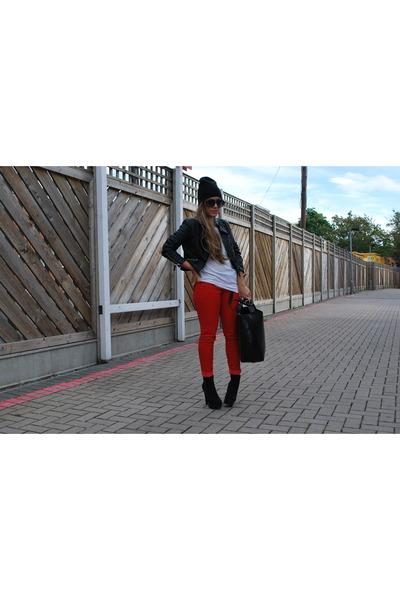 Mango jeans - H&M jacket - Topshop vest
