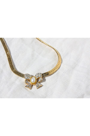 gold richelieu necklace