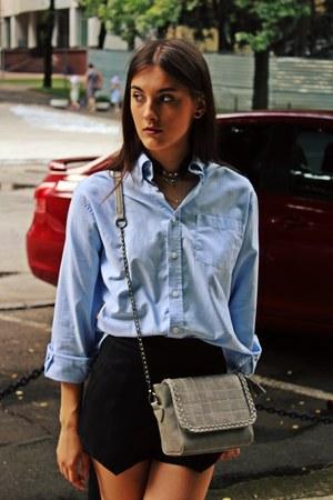 Zara shirt - sammydress bag - Sheinside shorts - PINKBASIS sneakers
