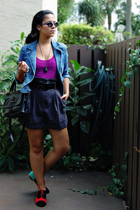 Old Navy top - delias blazer - Forever21 shorts - Topshop shoes - Urban Outfitte