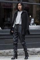black sam edelman boots - black MinkPink pants