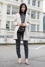 Beige-sheinside-coat-black-sophie-hulme-bag-gray-theory-pants