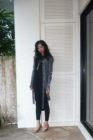 desmond yang dress - SPY vest