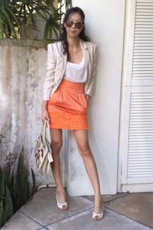 top - skirt - jacket