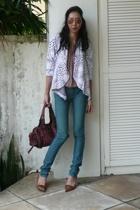 Stella McCartney blouse - Siwy jeans - abyzz coat