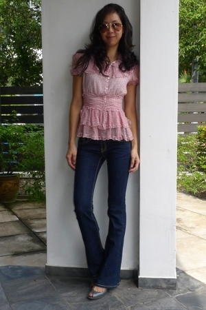 frills with jeans