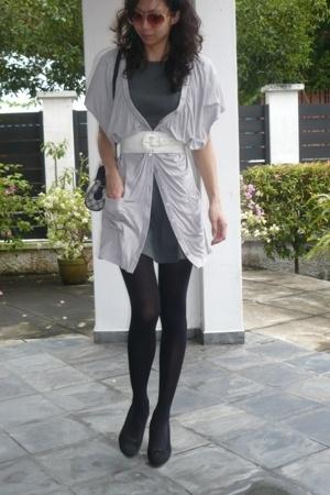 dress - vest - belt