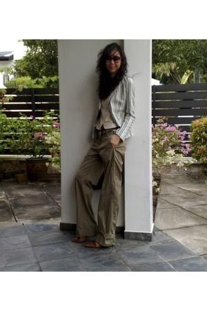 pants - purse - blazer