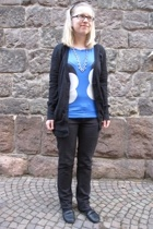 EDC - Only t-shirt - united colors of benetton pants - vagabond shoes - Miss Six
