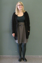 EDC - EDC shirt - Sisley skirt - Calzedonia tights - Akira shoes - American Appa