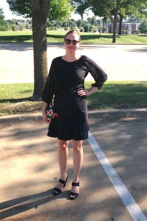 black orla kiely Target purse - black patent leather aerosoles sandals
