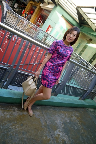 purple Pink Manila dress