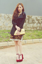 Brocade Printed Dress