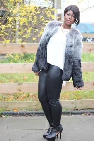 dark gray tesco jacket