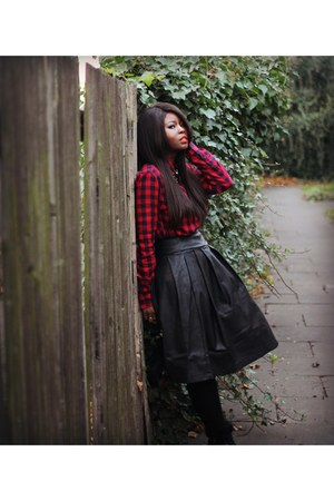 ruby red Primark shirt