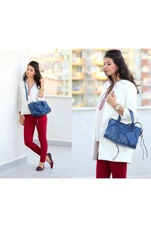 blue OASAP bag