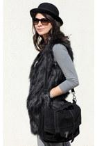 black cotton PERSUNMALL bag