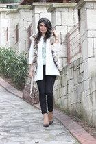 silk Zara coat