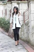 silk Zara coat