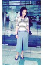Zara blouse - gray Assisi pants