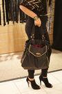 Black-h-m-top-black-nine-west-shoes-black-betsey-johnson-purse-gold-juicy-
