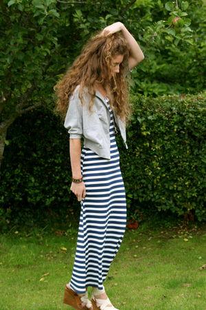 new look dress - Primark cardigan - Mango shoes - Accessorize necklace