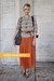 Green-midi-vintage-skirt