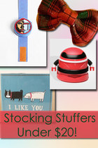 Stocking Stuffers Under $20!