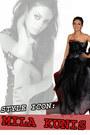 black couture dress