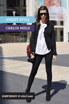 black Carlos Miele sweatshirt