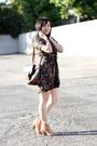 Neutral-leather-nine-west-boots-black-faux-2-piece-thrift-dress