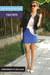 Blue-bodycon-asos-skirt