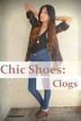 Brown-clogs