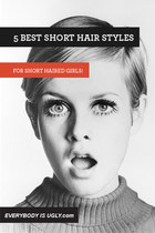 5 Best Short Hair Styles for Short Haired Girls!