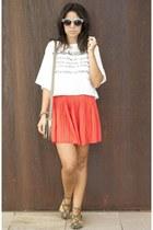 skirt - shoes - shirt - sunglasses