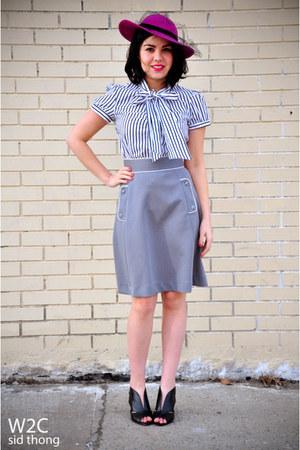 Forever 21 blouse - Dalton skirt