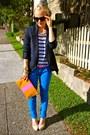 Current-elliott-jeans-theyskens-theory-blazer-mulberry-heels
