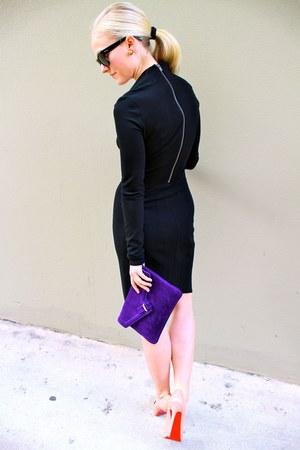 Helmut Lang dress - Ela bag - Christian Louboutin heels