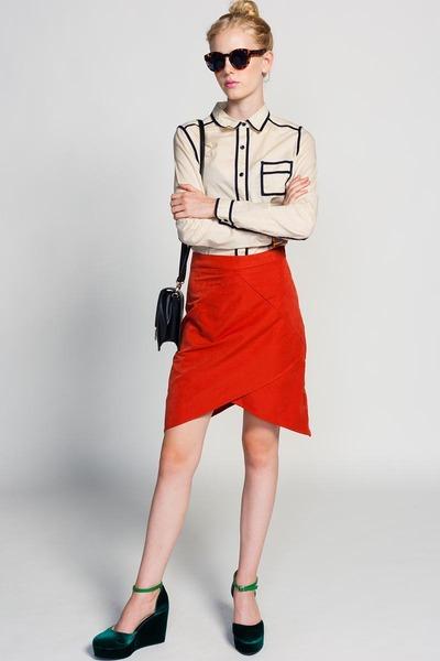 Line & Dot skirt