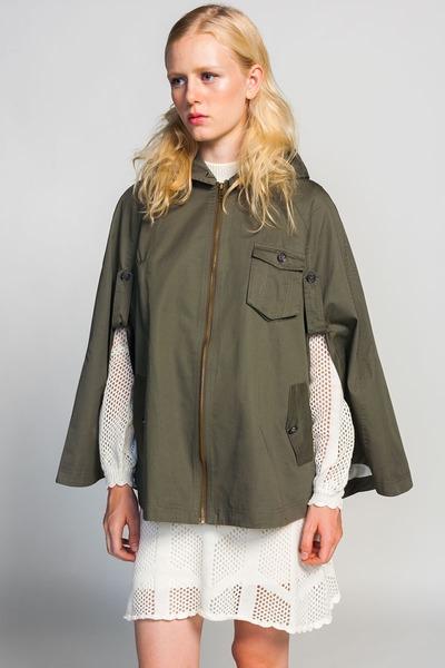Line & Dot cape