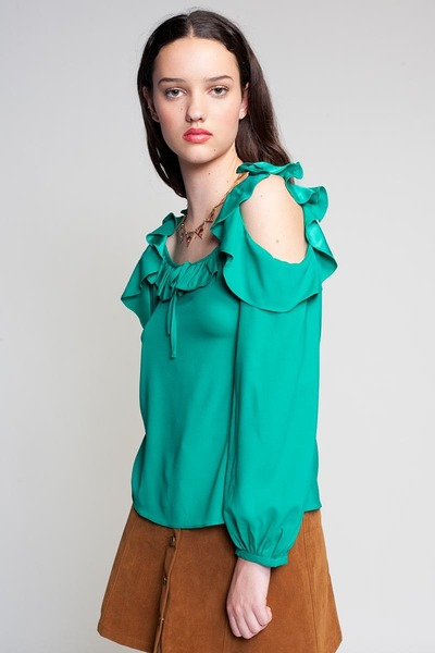 Plastic Island blouse