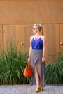 Orange-faux-leather-sammydress-bag-black-round-moddealscom-sunglasses